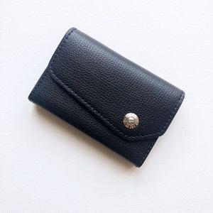 [Henri Bendel] RARE Leather Business Card Case